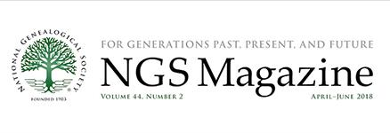 NGS Magazine masthead
