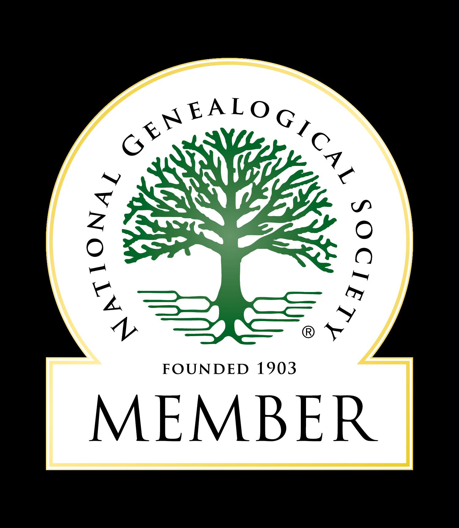 National Genealogical Society Member